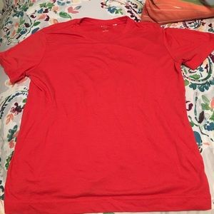 PacSun Tops - pacsun slightly cropped red t-shirt